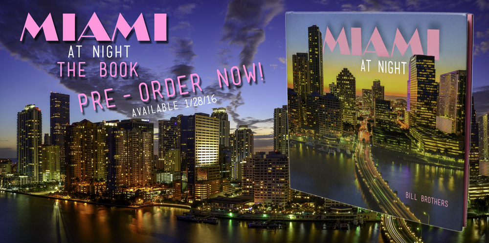 Miami at Night Book Pre-Order