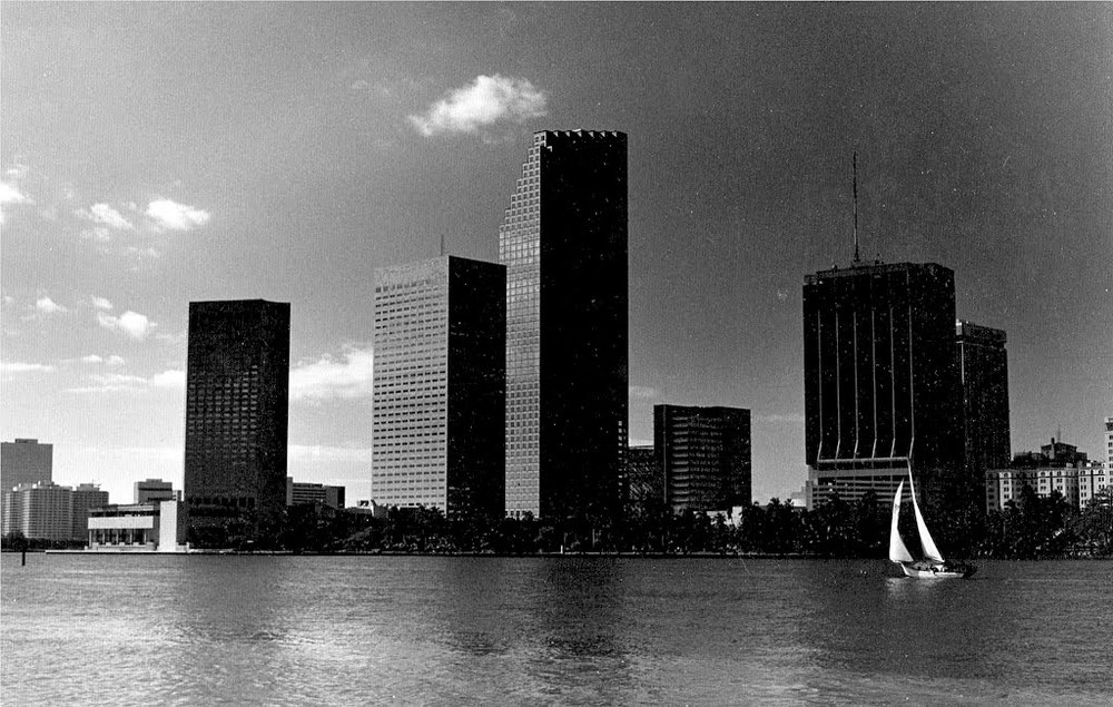 Downtown Miami 1989