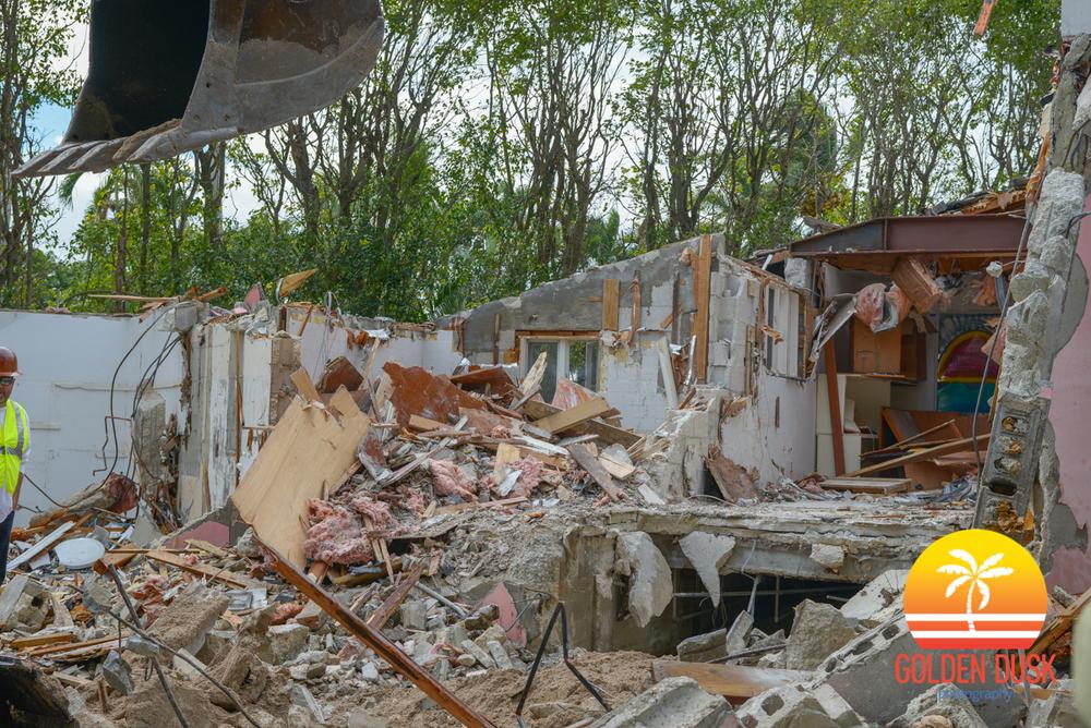 Pablo Escobar's Miami Beach House Demolition