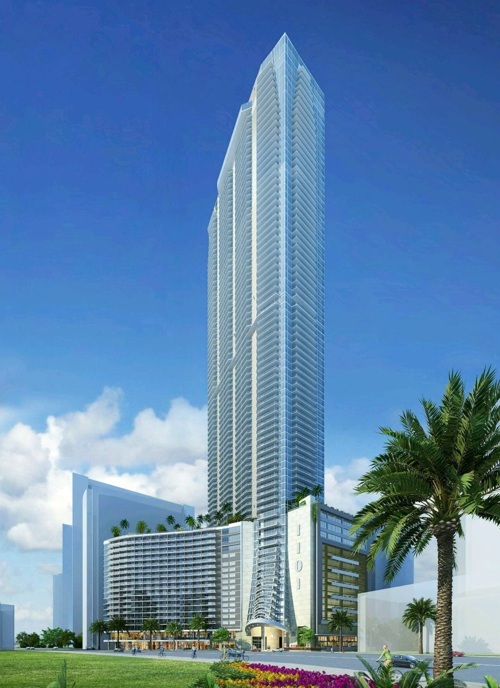 Rendering of Panorama Tower