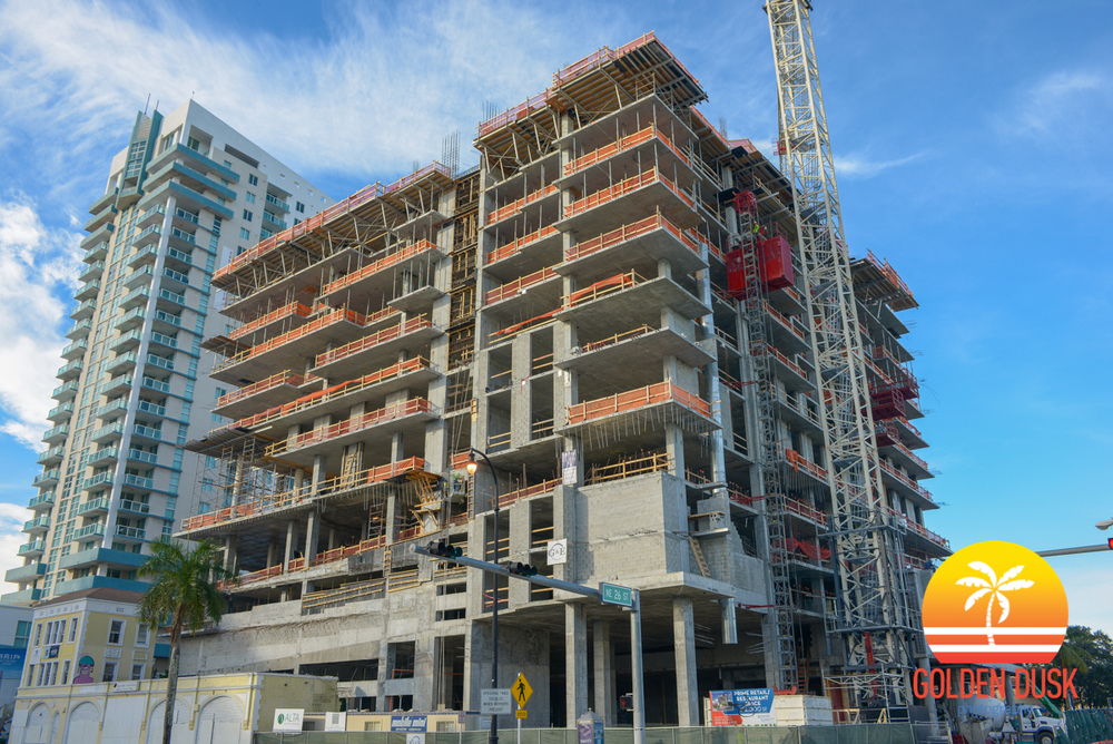 Construction on 2500 Biscayne Boulevard