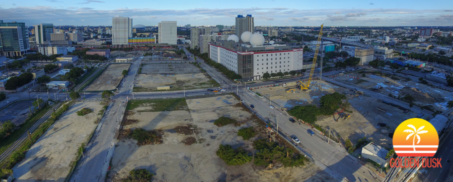 Miami Worldcenter Construction Site