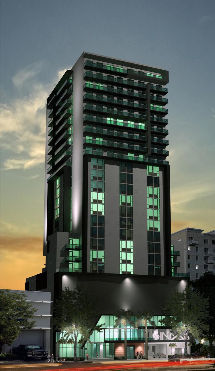Indigo Hotel Brickell Rendering