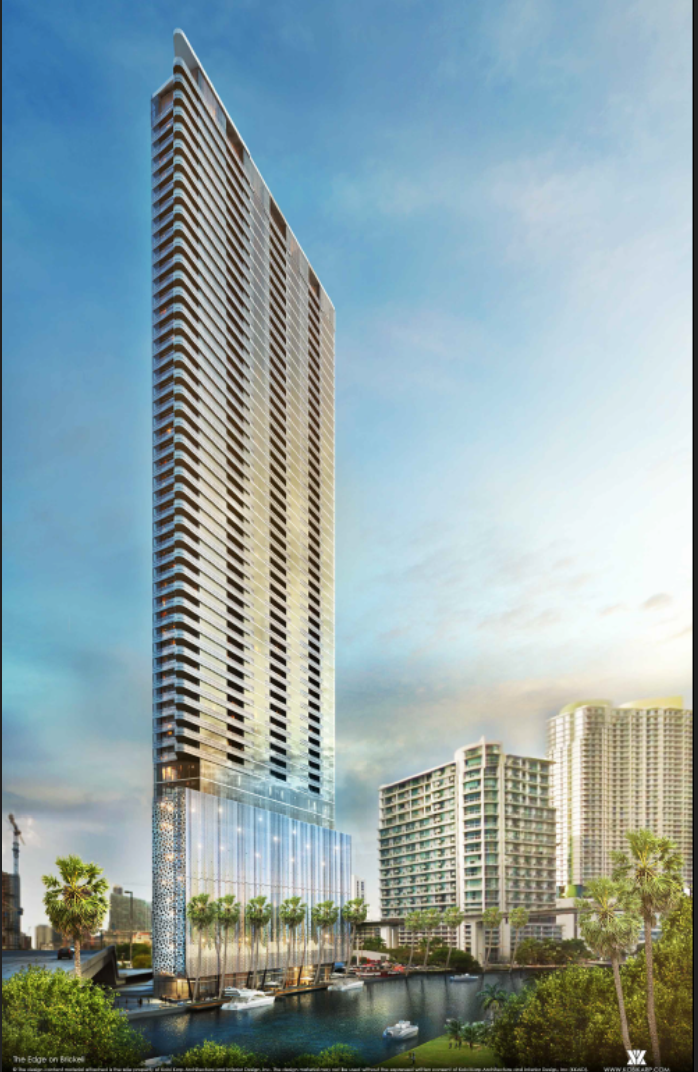 The Edge on Brickell Rendering