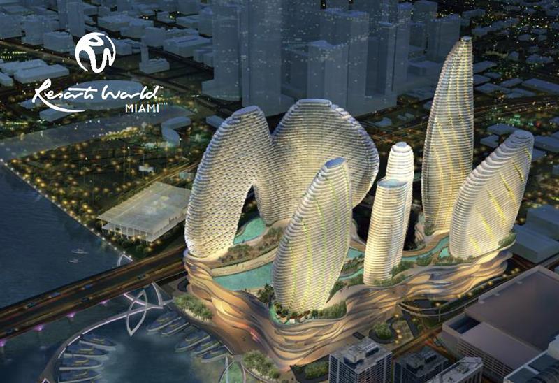 Genting World Resorts Miami Rendering