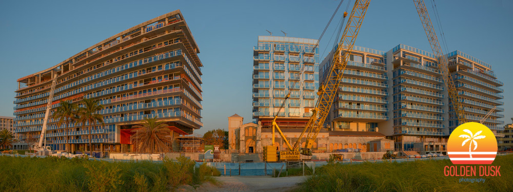 Surf Club - Four Seasons Hotel & Private Residences Construction Photos