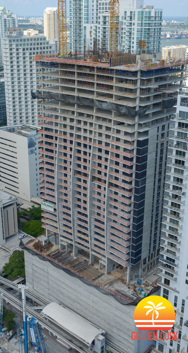 1010 brickell construction photos golden dusk photography for 13th floor investments
