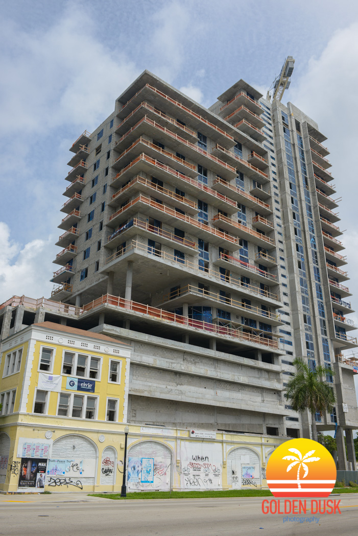 Construction on 2500 Biscayne
