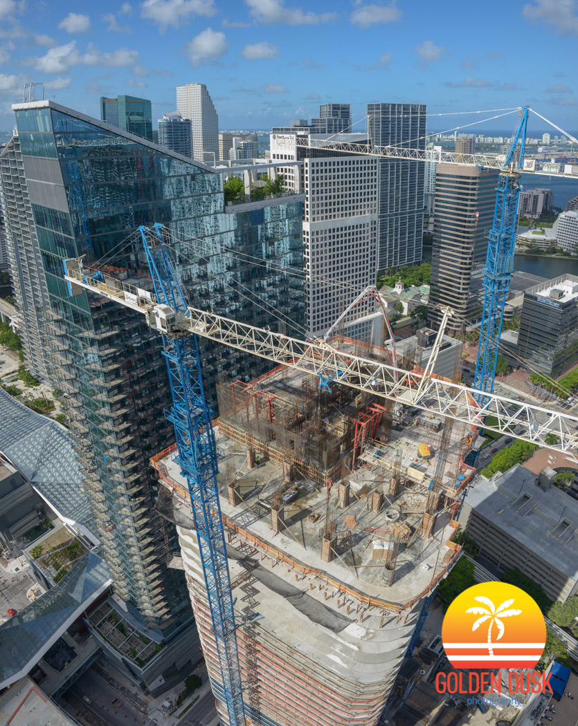 SLS Lux Brickell Under Construction