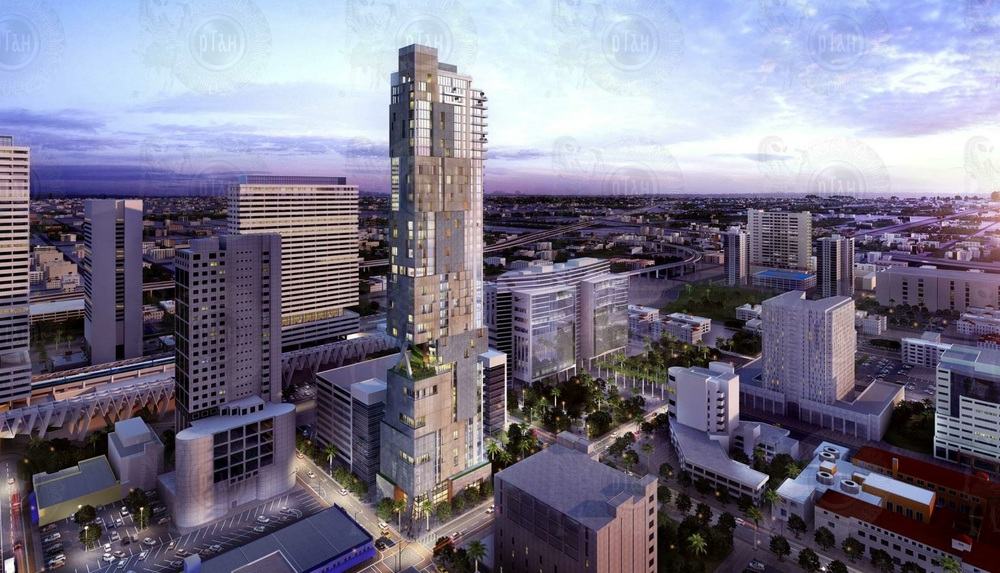 200 North Miami Avenue Rendering