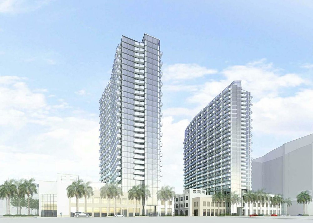 Midtown 6 and Midtown 7 Rendering