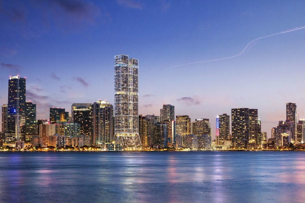The Towers by Foster + Partners Rendering in Brickell