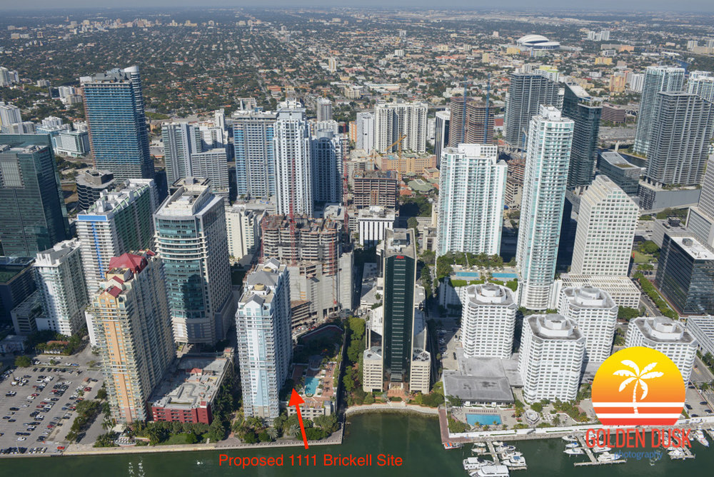 1111 Brickell Site