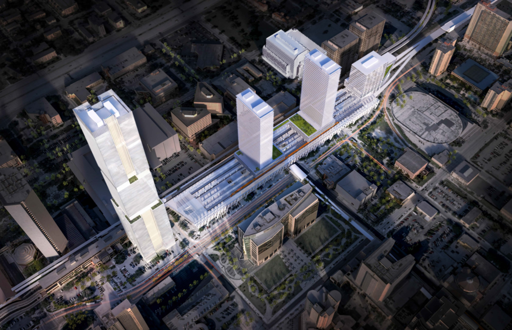 MiamiCentral Rendering
