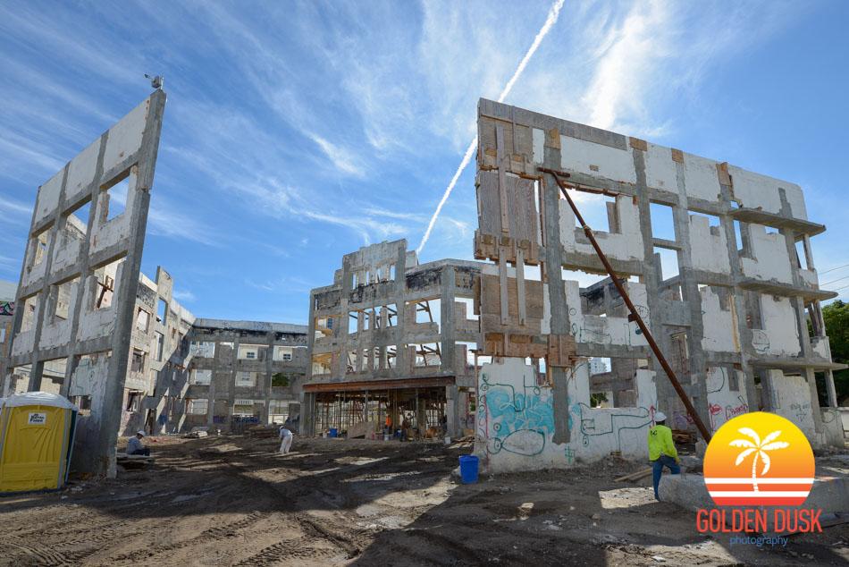 Collins Park Hotel Construction