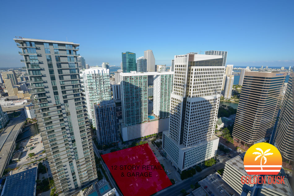 Brickell World Plaza Site
