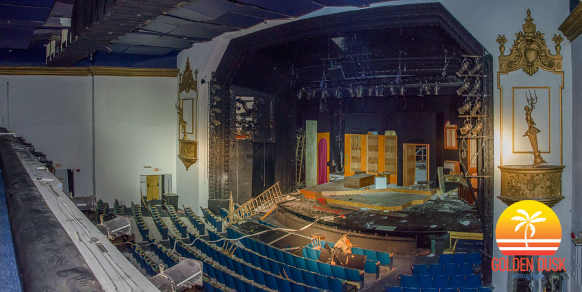 Inside the Coconut Grove Playhouse