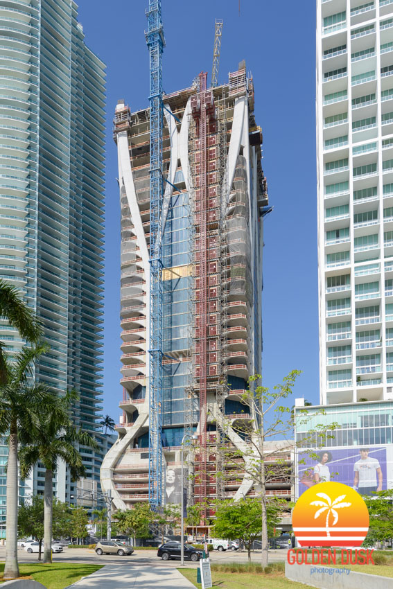 One thousand museum reaches the 38th floor of construction for 1000 museum miami floor plans