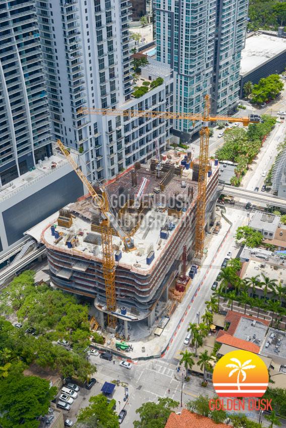 Brickell Flatiron Construction