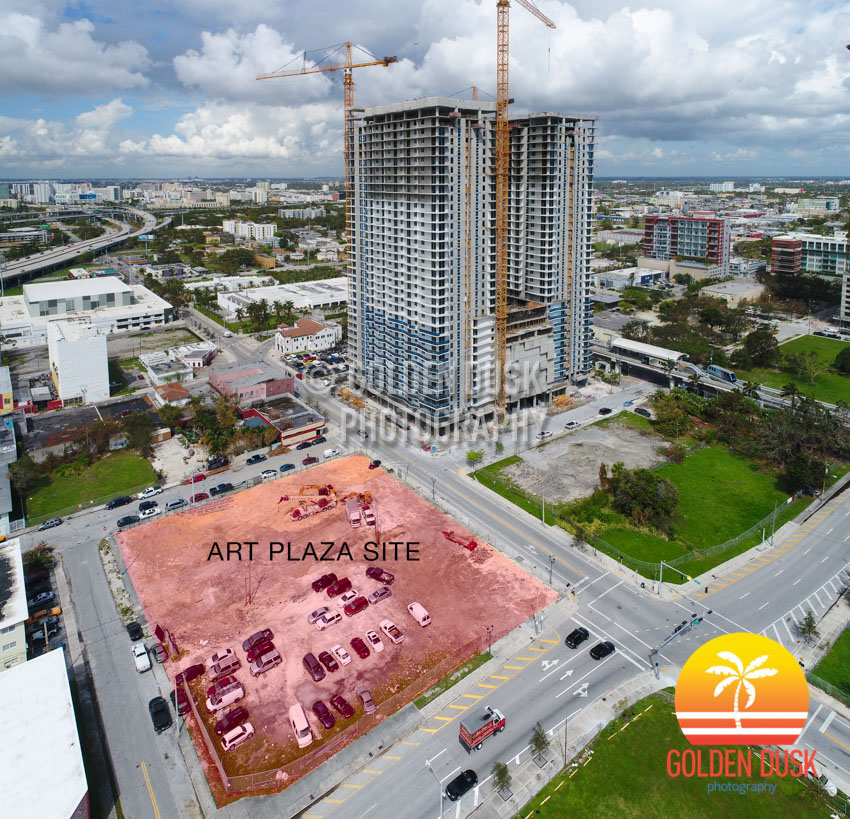 Plaza Square Apartments: Buildings At Art Plaza Site Demolished