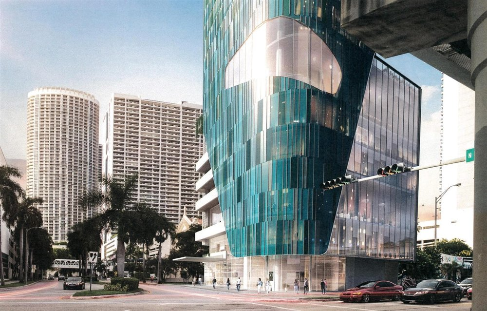 Miami Marriott Courtyard Rendering