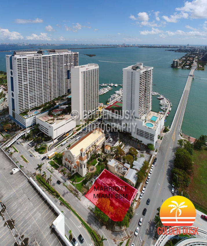 Miami Marriott Courtyard Site