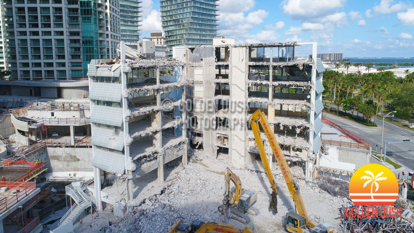Coconut Grove Bank Almost Demolished