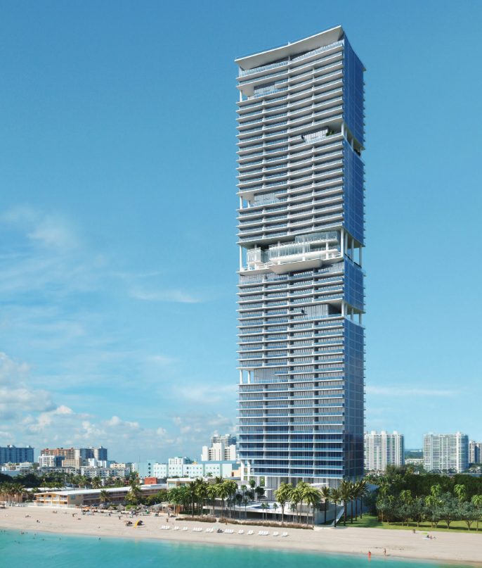 Turnberry Ocean Club Residences Rendering