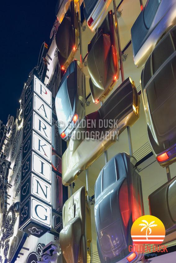 Design District - Museum Garage Night