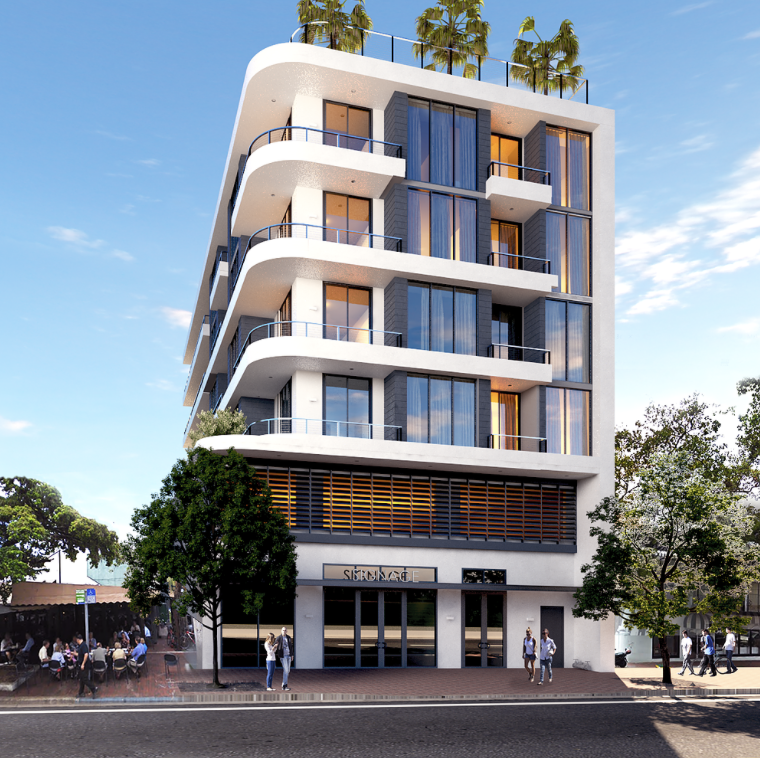 Commodore Place Rendering