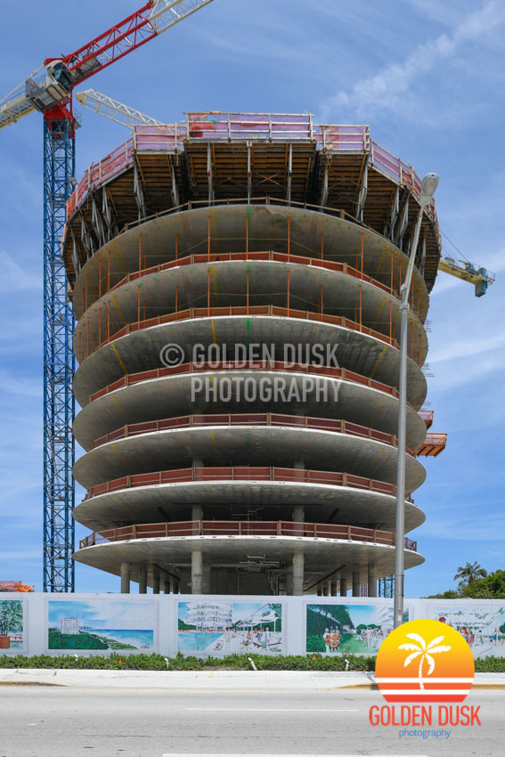 Eighty Seven Park Under Construction