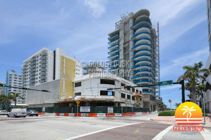 L'Atelier Miami Beach Construction Photos — Golden Dusk