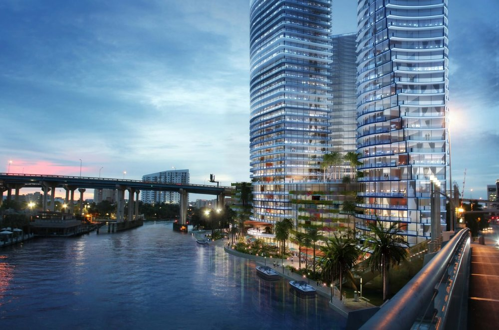 adler group reveals plan for miami riverside central site. Black Bedroom Furniture Sets. Home Design Ideas
