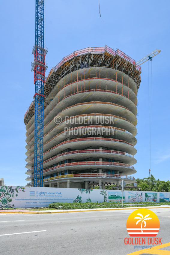 Eighty Seven Park Construction