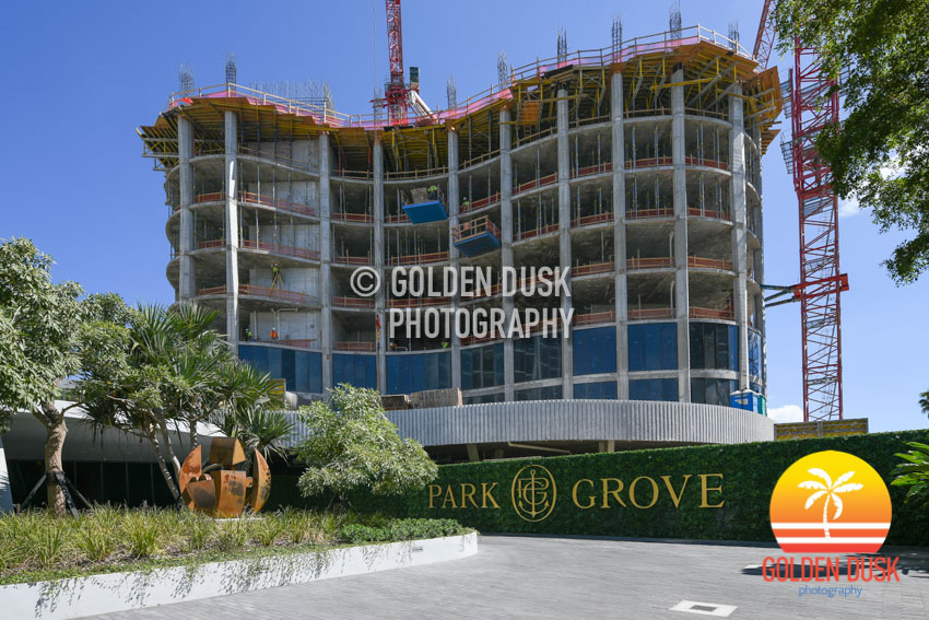 One Park Grove Construction
