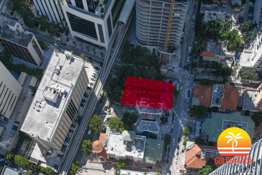 CitizenM Hotel Brickell Site