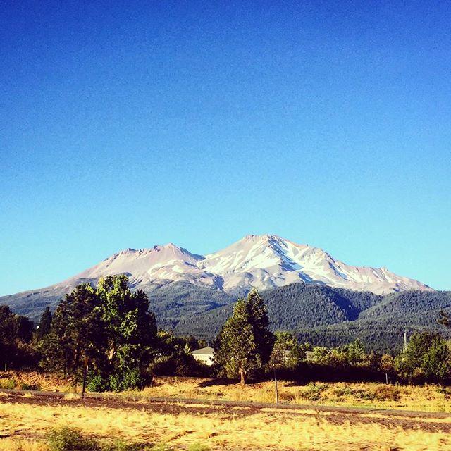 #shasta #mountain #volcano of the past #california #deeiceshemoveslikeawomanyes