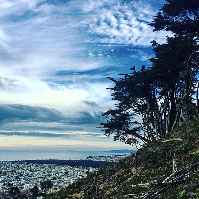 It really was #cool like dat in #sanfrancisco the other week #latergram #california #sky #dreams and #strangerthings in #thecity