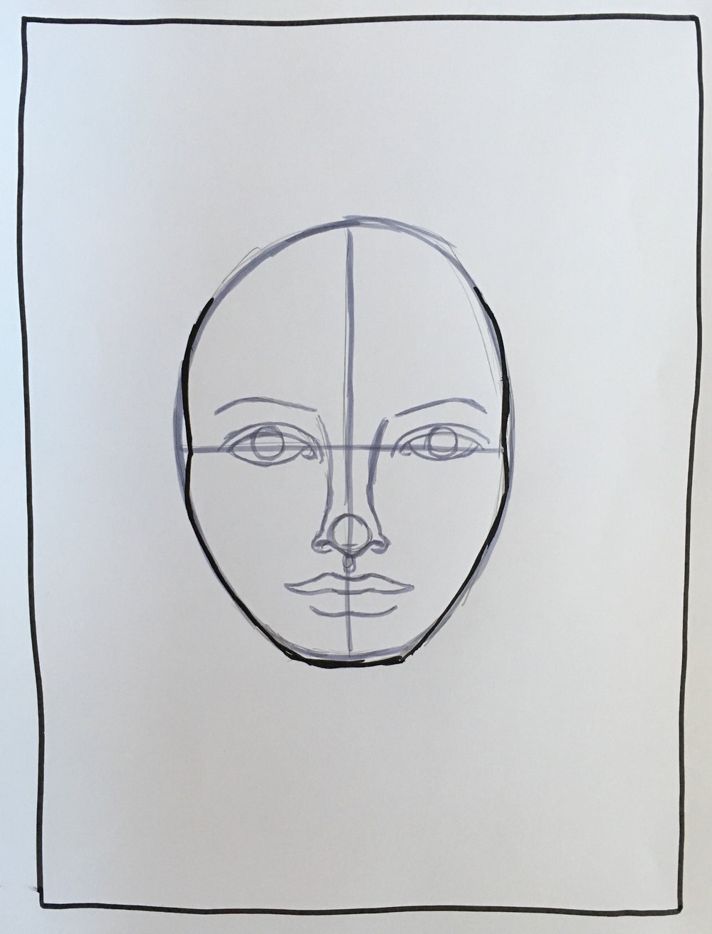Making faces I-13