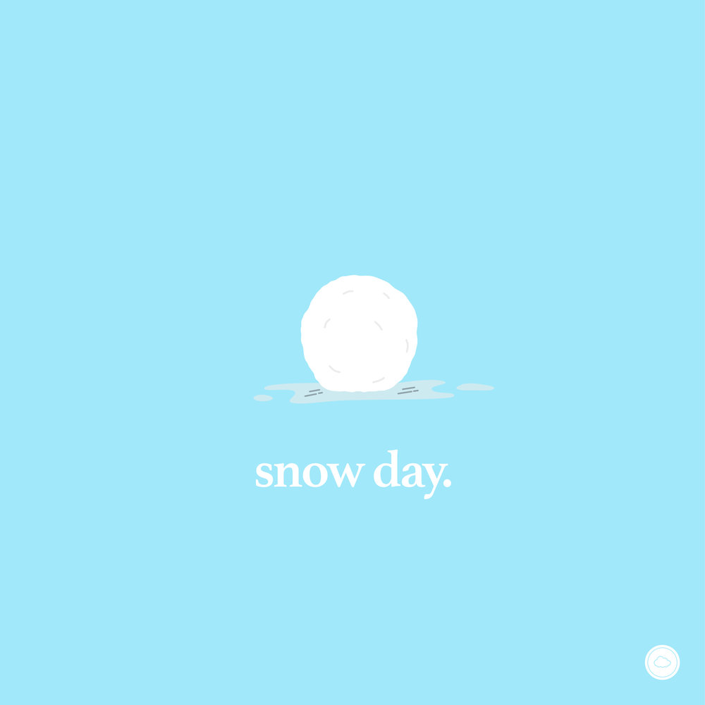 Snow Day   Here's to everything we love about snow days: from curling up with a cup of hot cocoa while watching the snow fall, to rolling around in (read: shoveling) snow, to thawing in a hot bath and watching re-runs of Home Alone. | Featuring one of DC's rising artists, Christie Dashiell | Compiled, with love, by The Whiff Co.