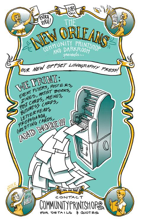 Community Printshop Poster