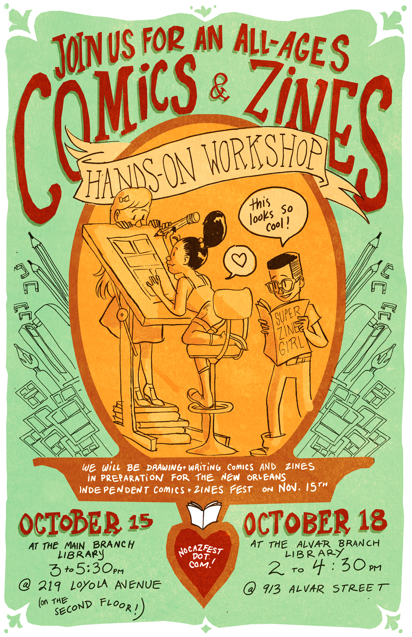 Poster for Library Workshop