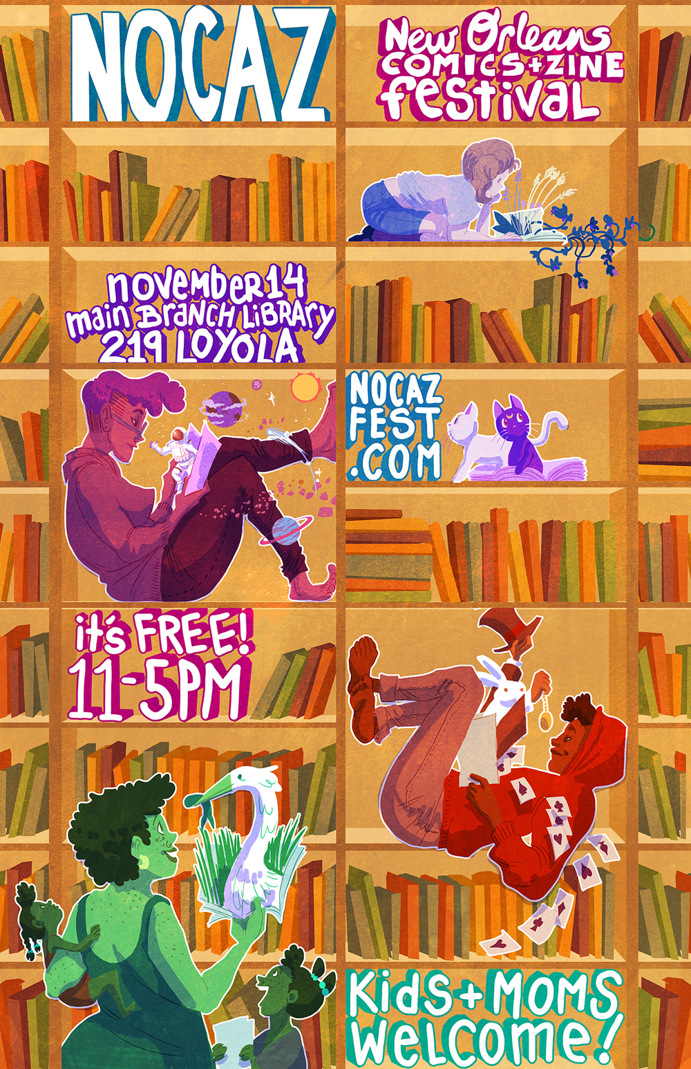 New Orleans Comics and Zine Festival (NOCAZ)