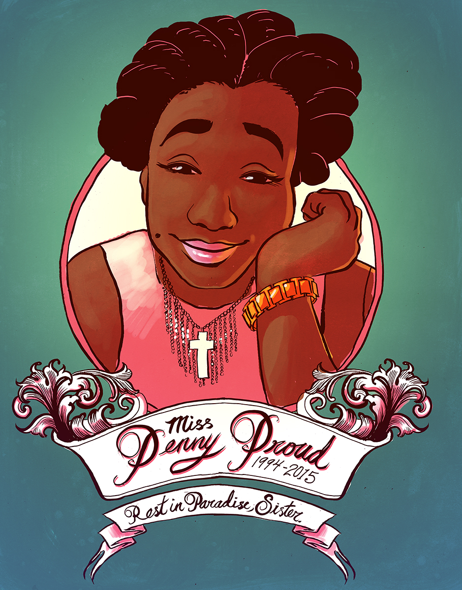 Penny Proud Memorial Graphic