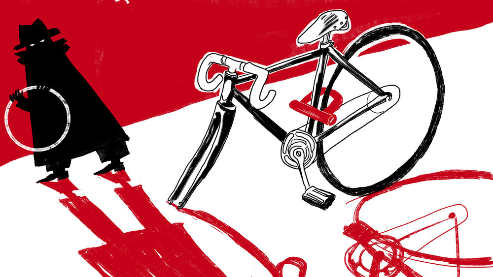 OUTSIDE MAGAZINE- How Not to Lock Your Bike