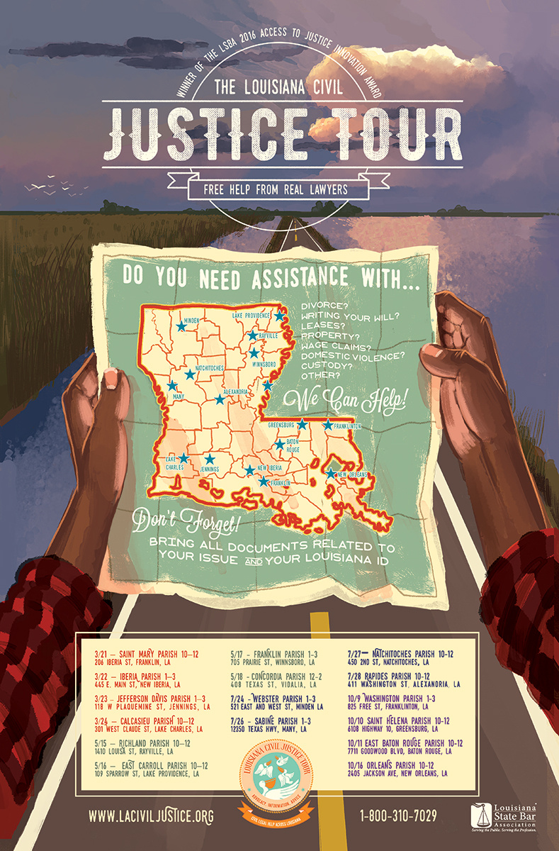 Louisiana Civil Justice Center 2017 Tour