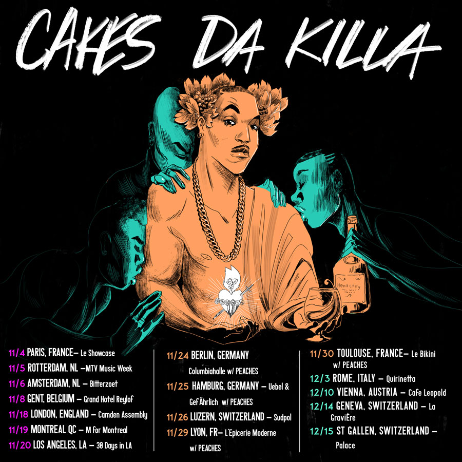 CAKES DA KILLA- tour announcement