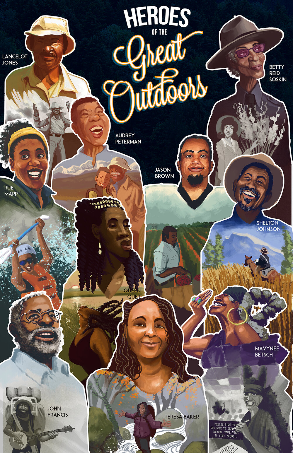 Heroes of the Great Outdoors