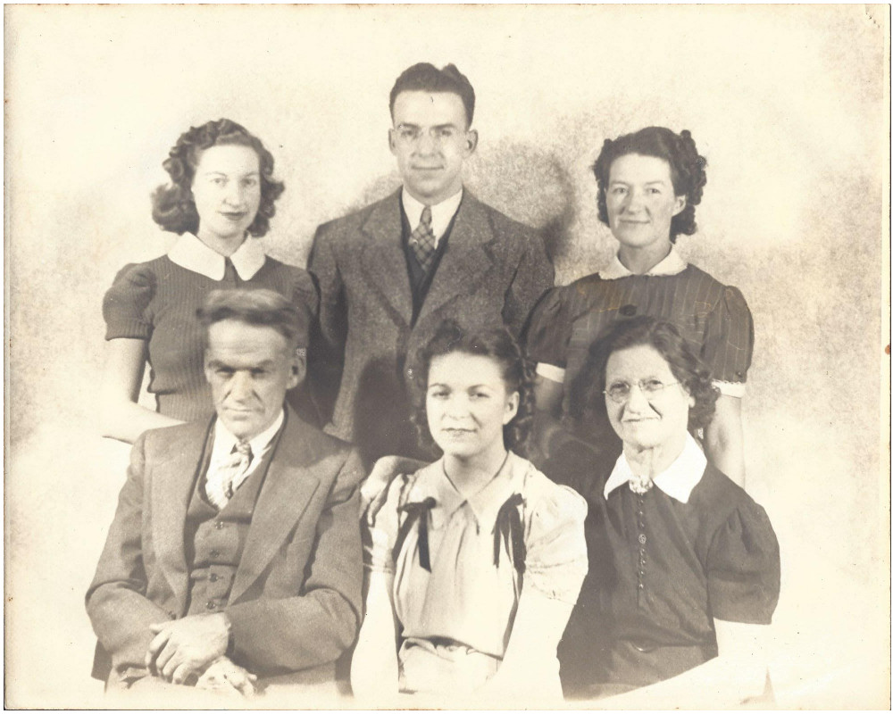 Our family in 1932.