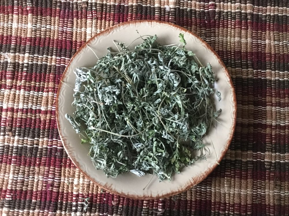 Wormwood, a rich and inviting aroma, very attractive. Very bitter with a good flavor in the back end almost like the bitter rind of a Grapefruit.